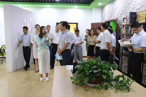 连云港市委组织部领导一行莅临指导工作