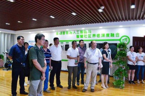 中国科学院社会研究所所长陈光金一行来到连云港基层考察