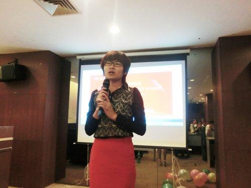 杨总经理发表讲话